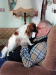 Mélisse aime son papy